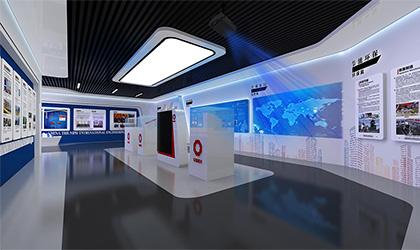 科技行业企业展厅