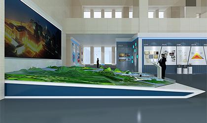 工程行业企业展厅