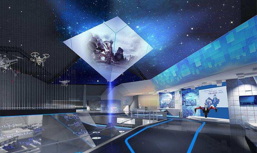 机器人技术多媒体展厅