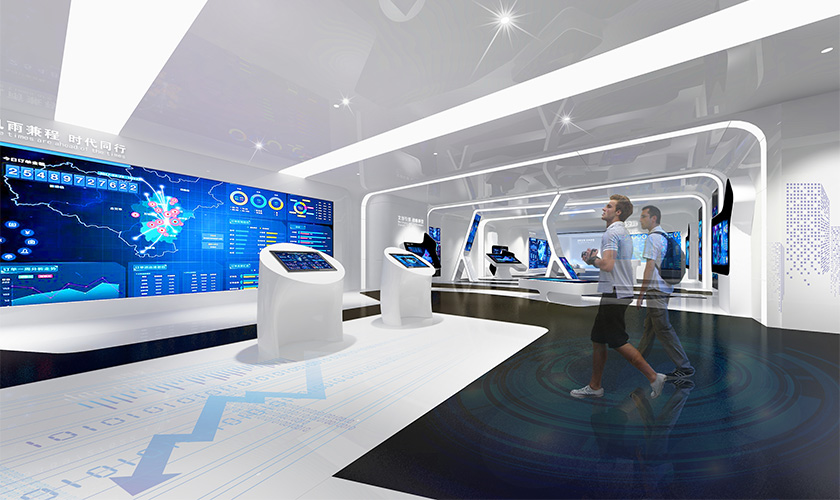 电商监控数字展厅