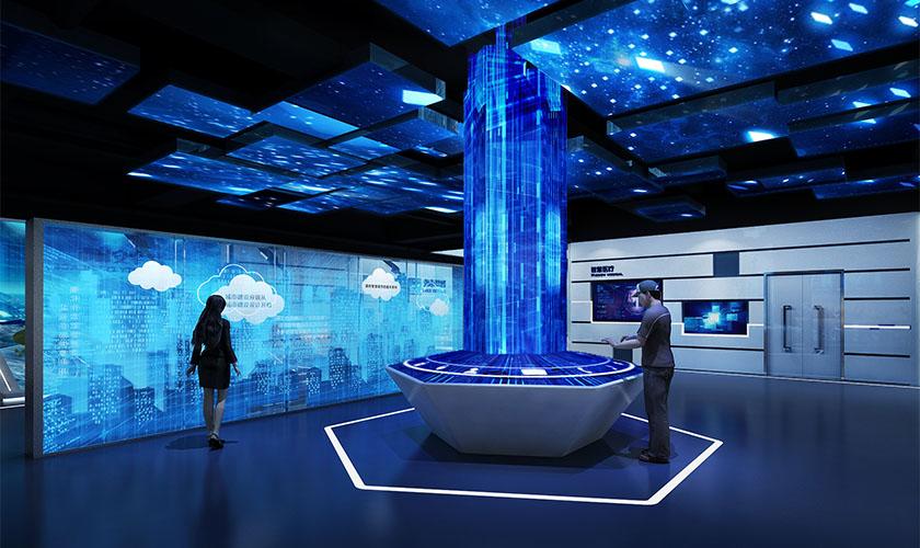 互联网科技体验展厅
