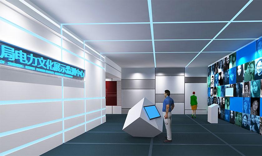 电路行业企业展厅