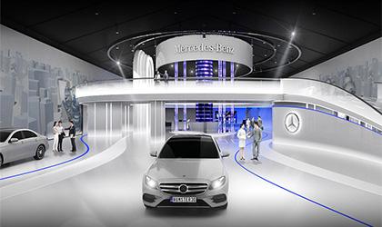 设计多媒体汽车展厅有什么好处?