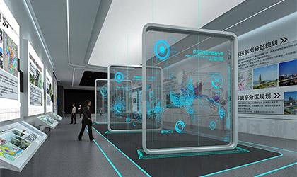 企业展厅规划时候氛围如何设计?