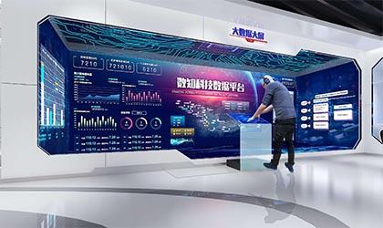 企业展厅空间设计常用的一些多媒体技术