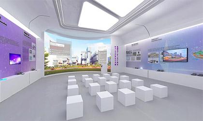 深圳电子公司企业展厅设