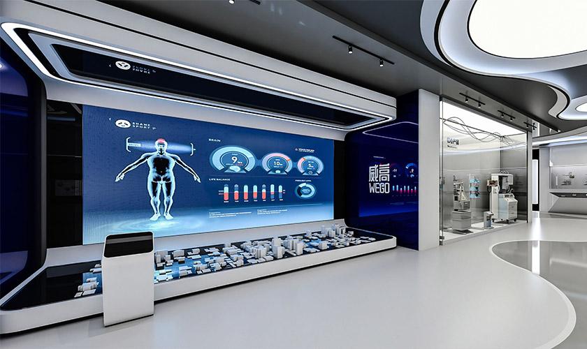 医疗设备企业展厅